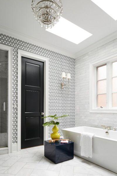25+ best ideas about Tile design on Pinterest   Backsplash, White tiles and Tile