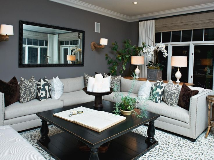 17 Best Ideas About Gray Living Rooms On Pinterest | Living Room