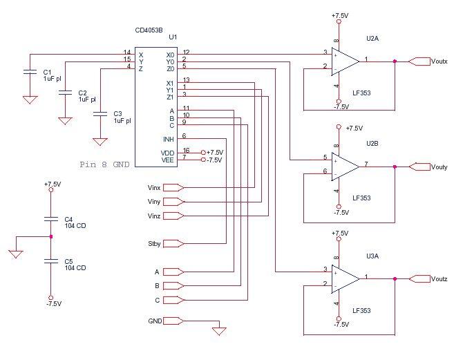 cnc electrical schematics
