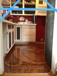 9 best images about Copper Penny Floors and Other Copper ...