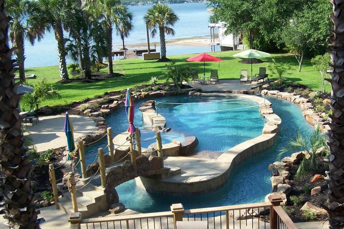Great 'lazy river' pool design