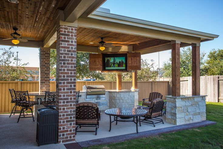 Custom Outdoor Covered Patio Such a unique piece! Tongue