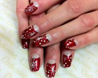 17+ best ideas about Snowflake Nail Design on Pinterest ...