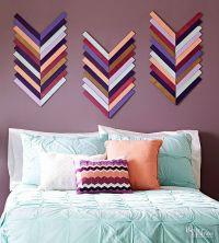 25+ best ideas about Chevron wall decor on Pinterest ...