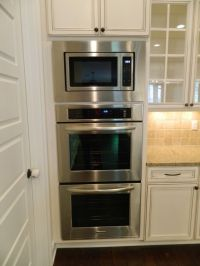 double oven with microwave oven in kitchen   Appliance ...