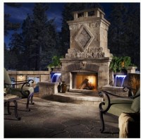 20 best images about Outdoor fireplace on Pinterest ...