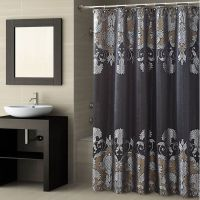 78+ ideas about Black Shower Curtains on Pinterest