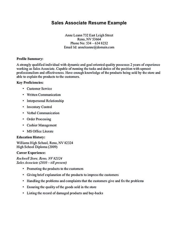 staples resume example