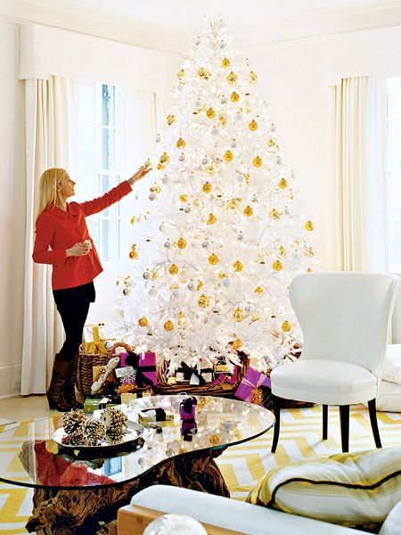 1000 images about gold and white christmas decor on