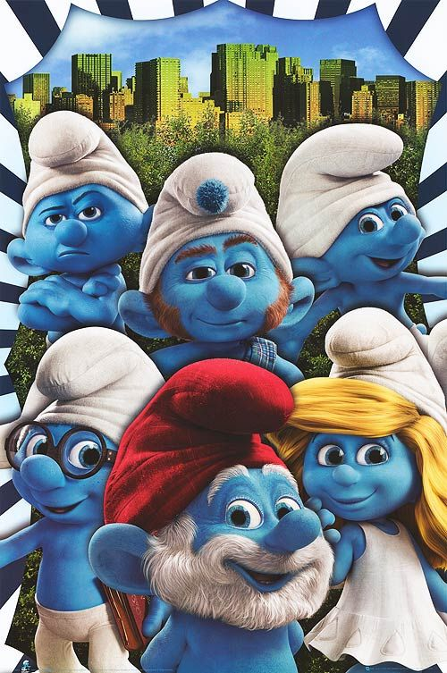 Best 3d Live Wallpaper Smurfs 2011 Best Movies Pinterest The Smurfs The O