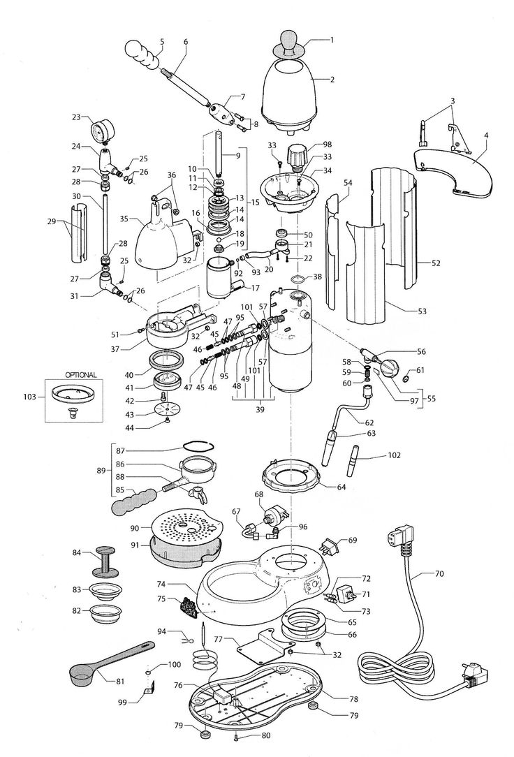 breville oracle schematic