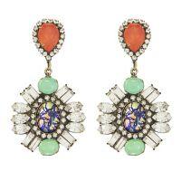 PERLA EARRINGS - Loren Hope   dripping in jewels ...
