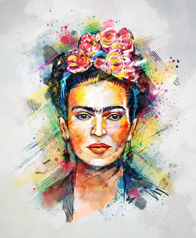 Frida Kahlo Viva La Vida Pintura Frida Kahlo | Poster | Tes, William Shakespeare And Portrait