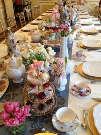 Table Set up for High Tea Party | Tea Party | Pinterest ...