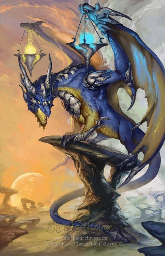 200 Libras Dragon Art By Sixthleafclover-libra-2014 | Love Dragons