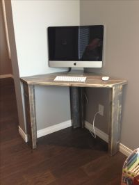 Rustic Corner Desk | Office/Guest Room | Furniture ...
