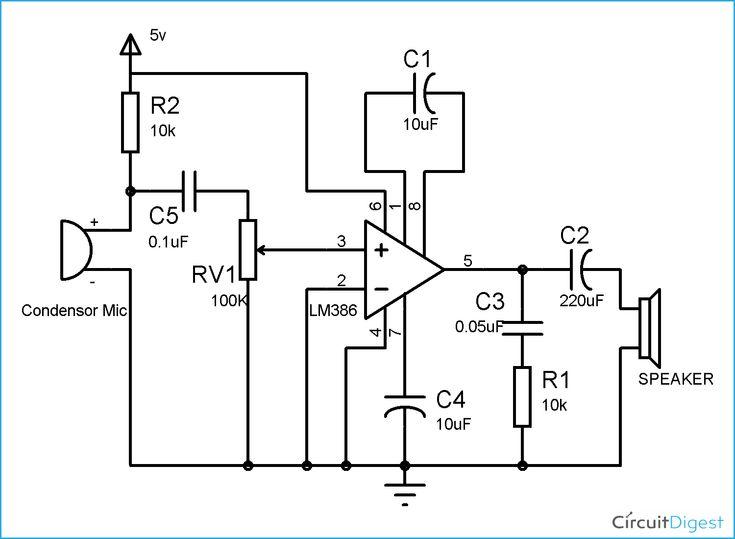 wireless communication circuit diagram