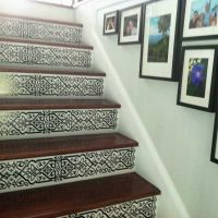 25+ best ideas about Painted Stair Risers on Pinterest ...