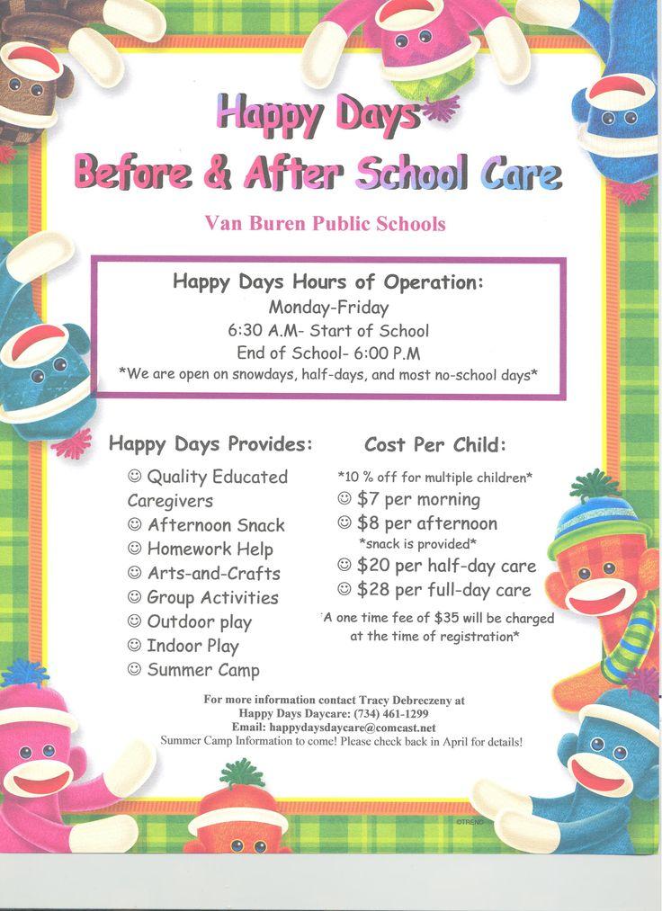 Daycare Flyer Template - Eliolera - daycare flyer
