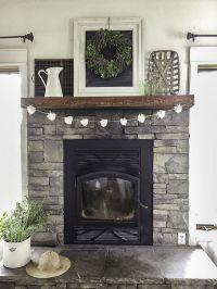 Best 25+ Grey stone fireplace ideas on Pinterest