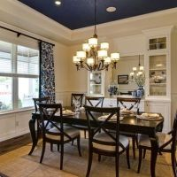25+ best ideas about Navy dining rooms on Pinterest   Blue ...