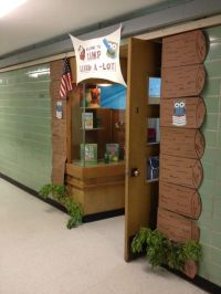 41 best images about Camping Theme Decorations for School ...