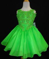 Lime Green Flower Girl Dresses