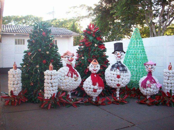 Decorazioni Luminose Natalizie Fai Da Te : Decorazioni natalizie fai da te per esterno