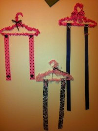 Little Girls Bow holder! DIY | Hair Bow Holder | Pinterest ...