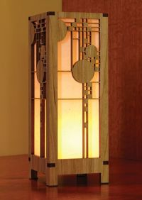 Frank Lloyd Wright Floor Lamp Plans - WoodWorking Projects ...