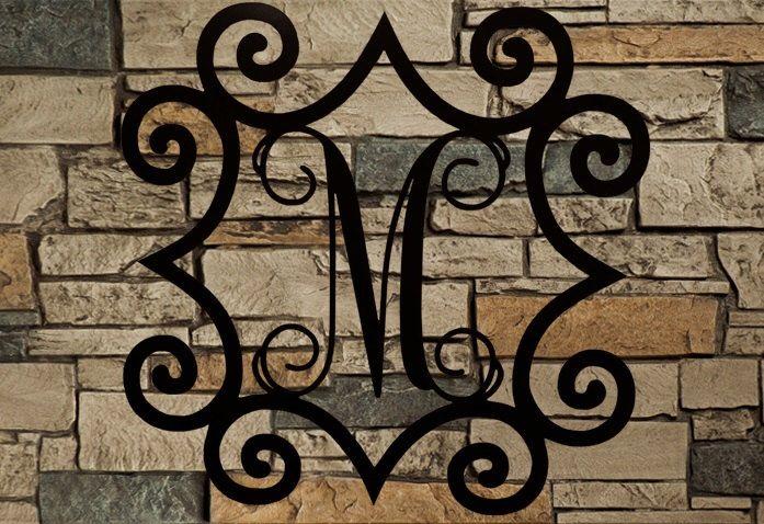 wood wall monograms