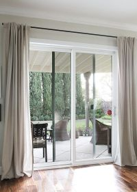 25+ best ideas about Patio door curtains on Pinterest ...