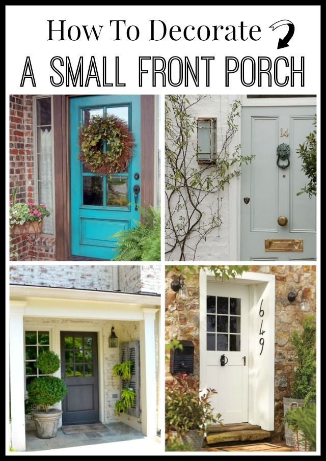 How To Decorate Your Front Porch 17 Best Images About Curb Appeal On Pinterest | Planters