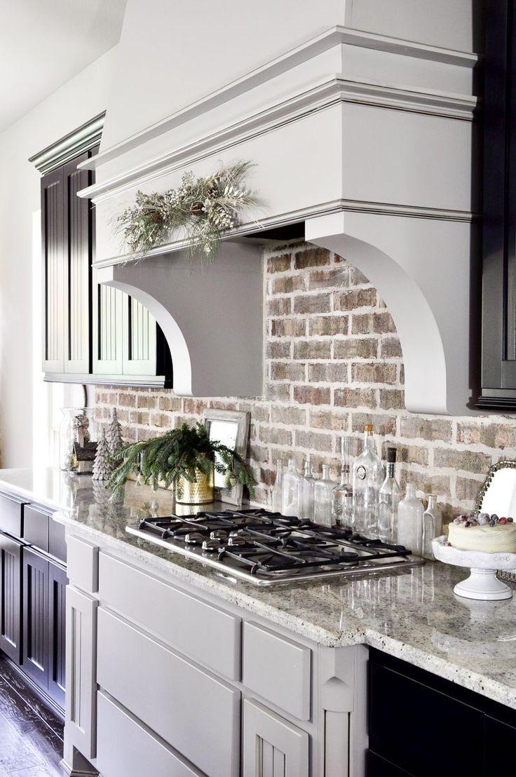 exposed brick kitchen backsplash for kitchens 25 best ideas about Exposed Brick Kitchen on Pinterest Brick wall kitchen Kitchen brick and Exposed brick