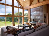 Room with A View | Timbers - Vaulted Ceiling - Wall of ...