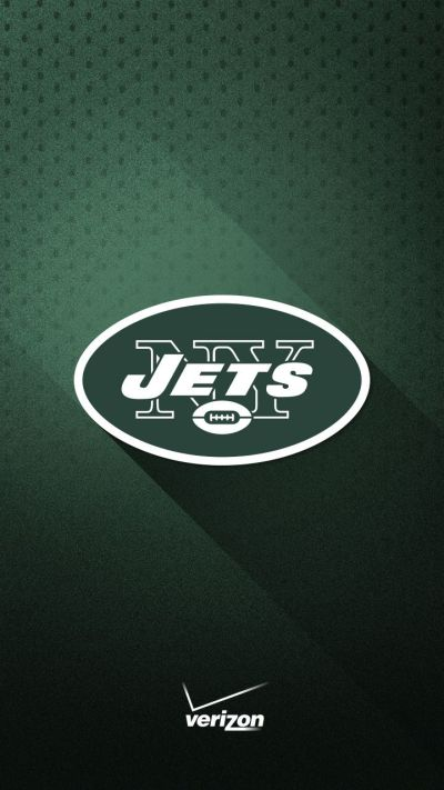 Show your loyalty to the New York Jets with this green and white smartphone wallpaper from ...