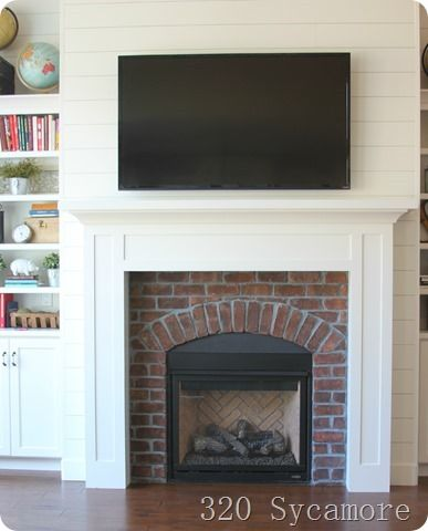 Brick Gas Fireplace Woodworking Projects Plans