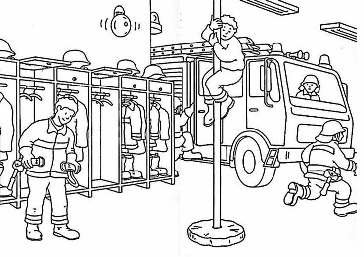 Feuerwehr Ausmalbilder Zum Drucken Feuerwehr Pinterest