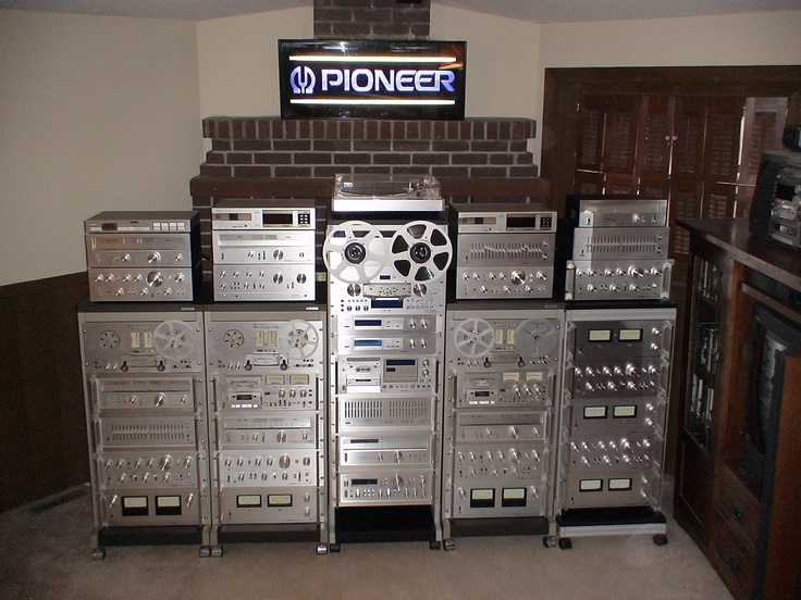 Hifi Rack Design My Silver Racks! | Vintage Pioneer Stereo Equipment I've