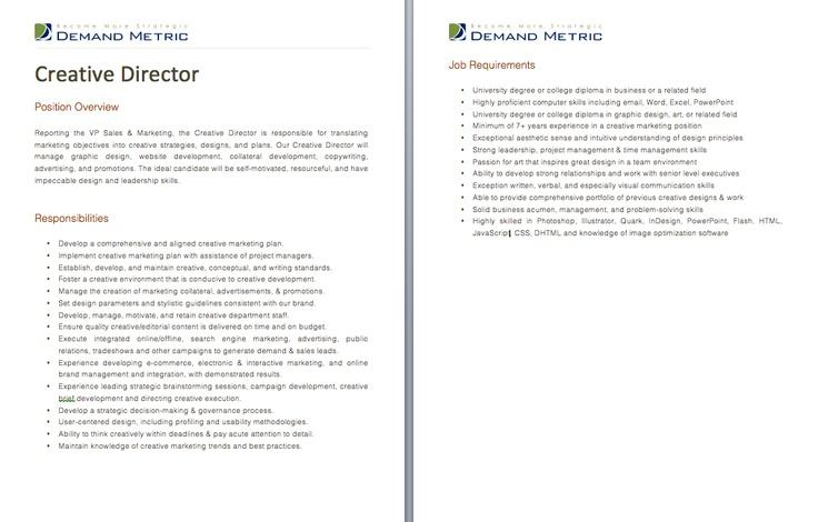creative director resume samples   nfgaccountability.com