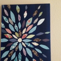 I like homemade wall art | Home | Pinterest