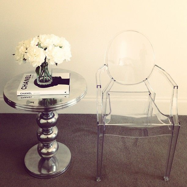 17 Best Ideas About Silver Side Table On Pinterest | Silver