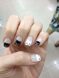 72 best images about Cat Nail Art on Pinterest | Pusheen ...
