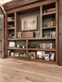 Rustic shelving | Decorating Ideas | Pinterest | Oak ...
