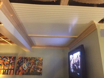 25+ best ideas about Drop ceiling panels on Pinterest   Dropped ceiling, Drop ceiling grid and ...