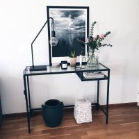 Best 25+ Ikea glass desk ideas on Pinterest | Glass desk ...