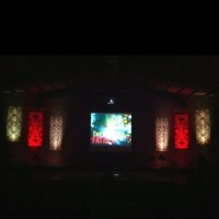 """Our Father"" sermon series graphic and stage design. 3x8 ..."