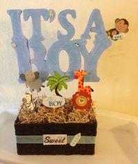 Baby shower centerpiece Baby shower ideas | Lion King Baby ...