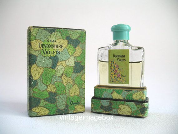 Real Devonshire Violets By Boots The Chemist Vintage