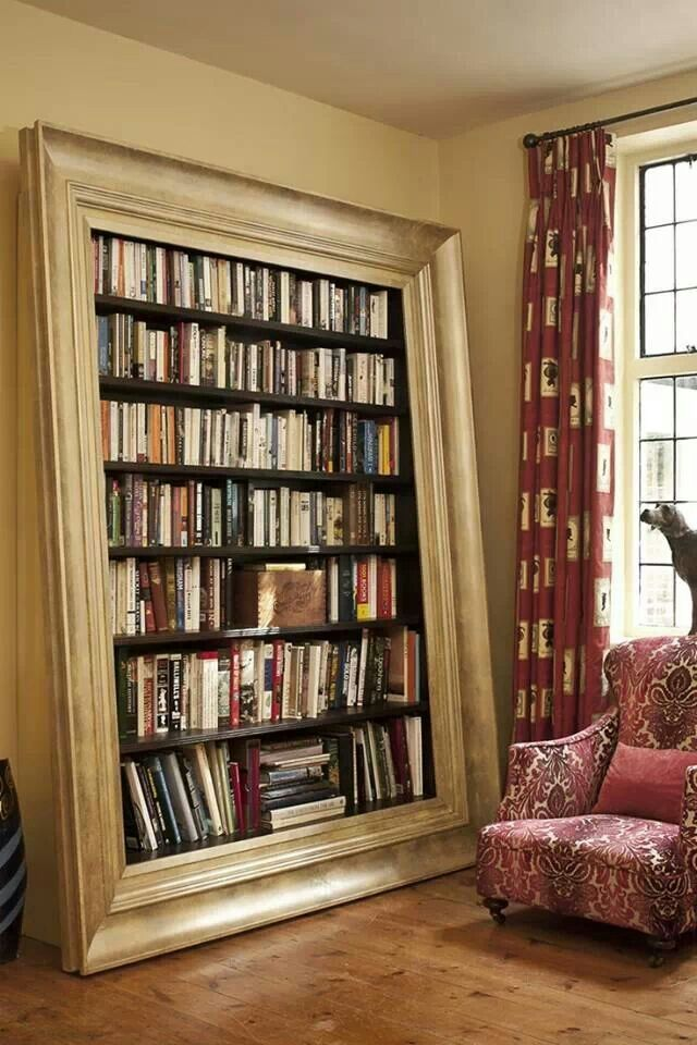 465 Best Cool Bookshelves Images On Pinterest